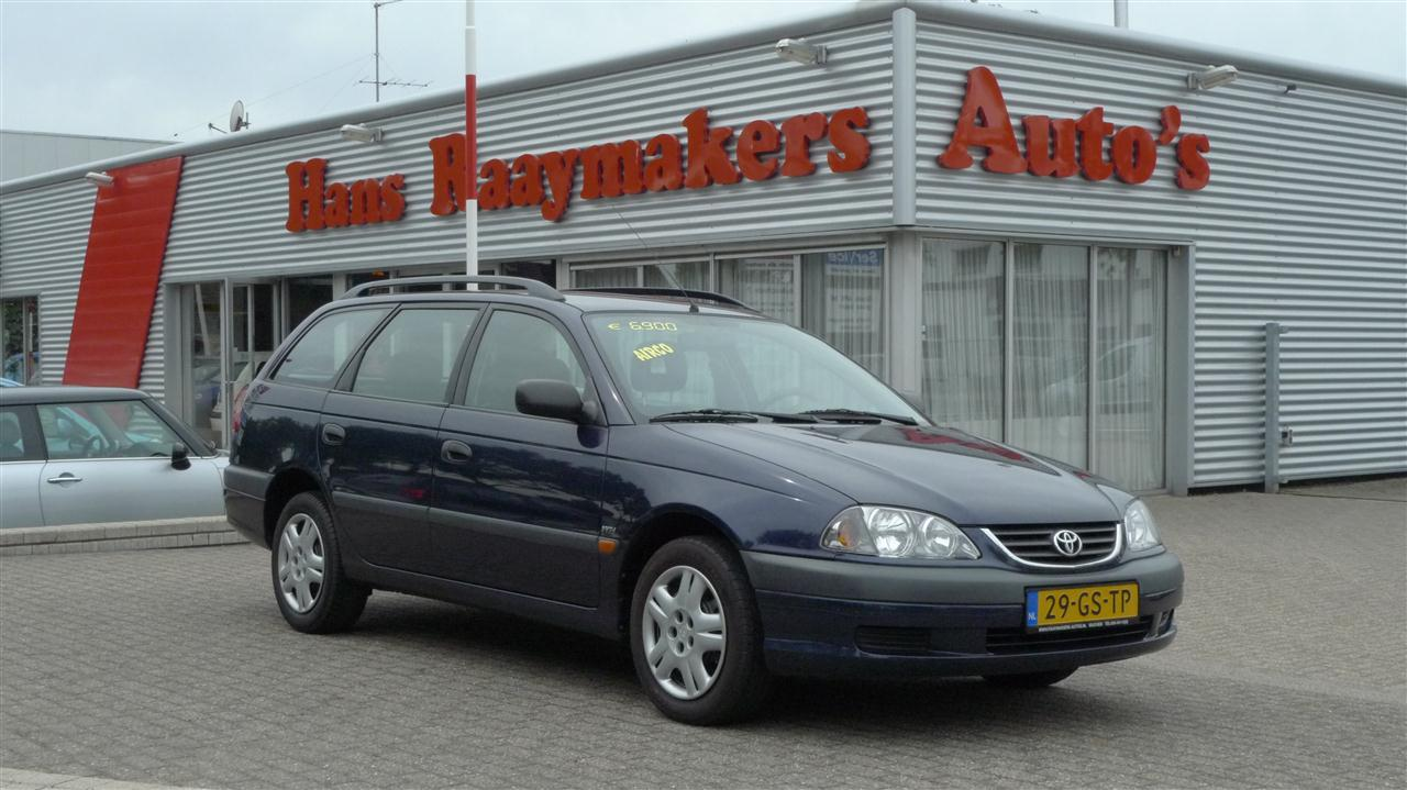 Toyota Avensis Verkocht Hans Raaymakers Wijchen Auto 180 S