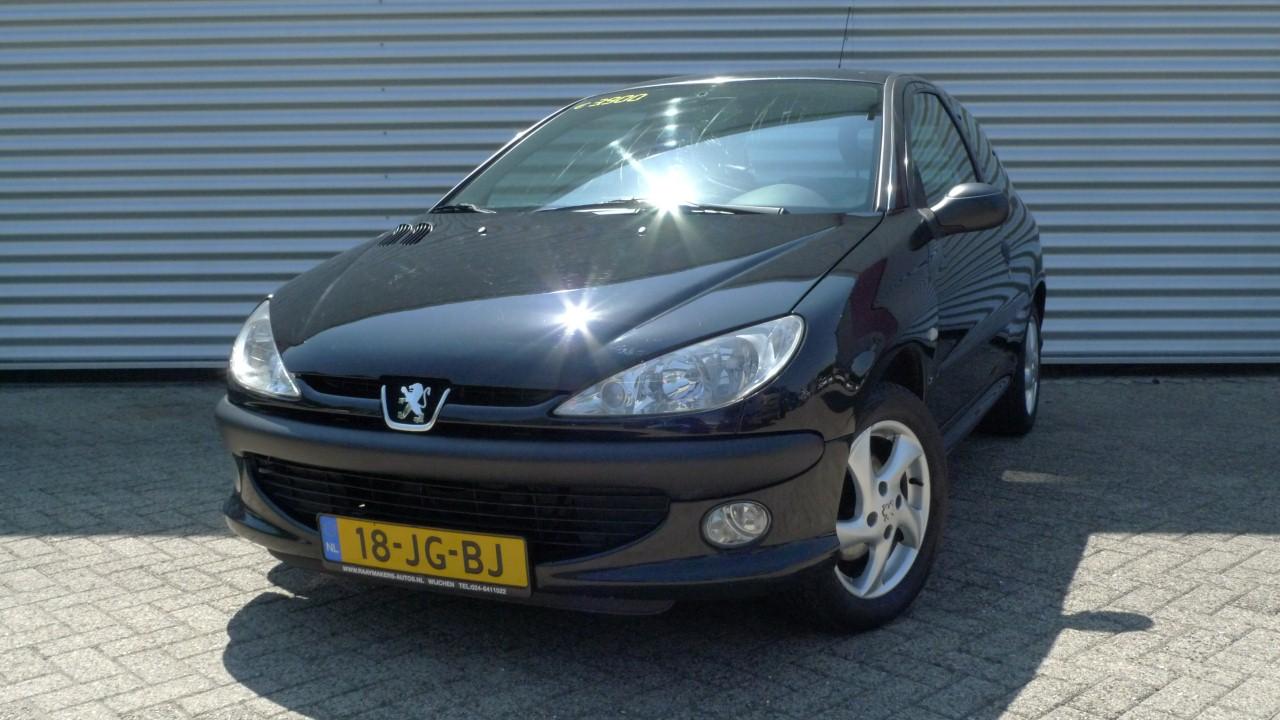 Peugeot 206 Verkocht Hans Raaymakers Wijchen Auto 180 S Apk