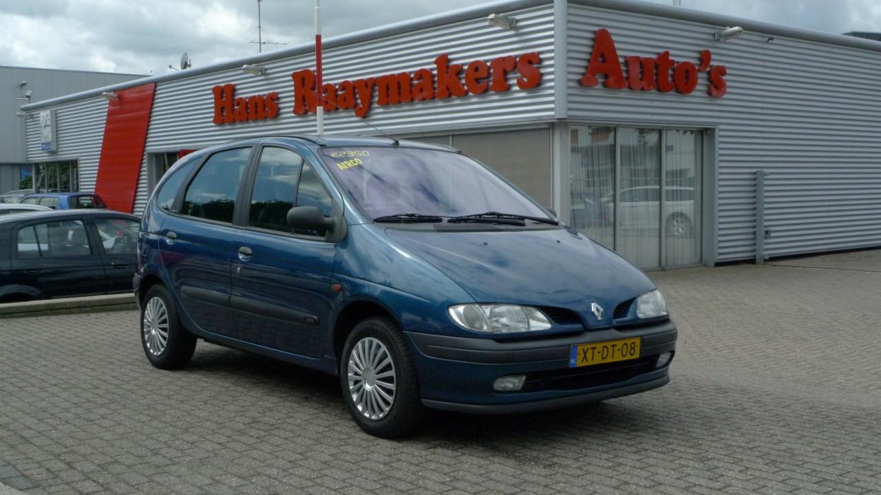 Renault Scenic Verkocht Hans Raaymakers Wijchen Auto 180 S