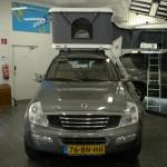 Daktent kamperen met de auto Wijchen Nijmegen (13)