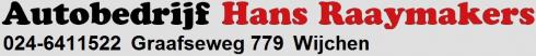 Hans Raaymakers Wijchen auto´s, APK, onderhoud alle merken.
