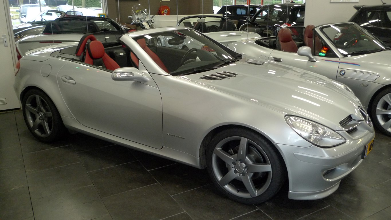 mercedes slk automaat cabrio te koop hans raaymakers. Black Bedroom Furniture Sets. Home Design Ideas