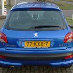 Peugeot 206+ blauw Wijchen Nijmegen (16)
