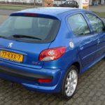 Peugeot 206+ blauw Wijchen Nijmegen (17)