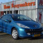 Peugeot 207cc blauw Wijchen Nijmegen (11)