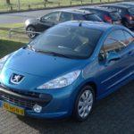 Peugeot 207cc blauw Wijchen Nijmegen (13)