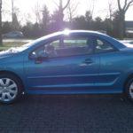 Peugeot 207cc blauw Wijchen Nijmegen (14)
