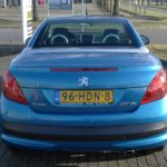 Peugeot 207cc blauw Wijchen Nijmegen (16)