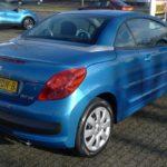 Peugeot 207cc blauw Wijchen Nijmegen (17)