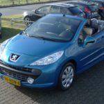 Peugeot 207cc blauw Wijchen Nijmegen (52)