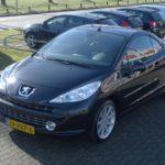 Peugeot 207cc zwart Wijchen Nijmegen (13)
