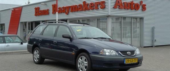 Toyota Avensis verkocht