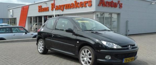 Peugeot 206 afgeprijsd verkocht