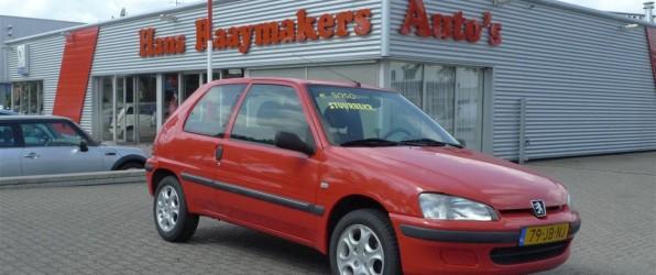 Peugeot 106 verkocht