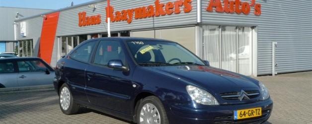 Citroën Xsara verkocht