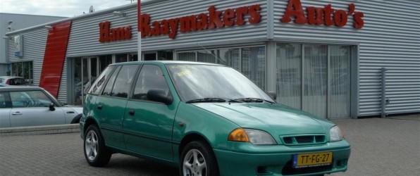 Suzuki Swift verkocht