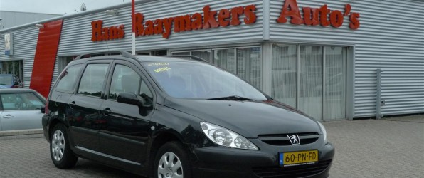 Peugeot 307 verkocht