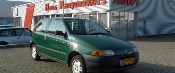 Fiat Punto verkocht
