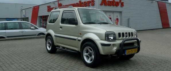 Suzuki Jimny verkocht