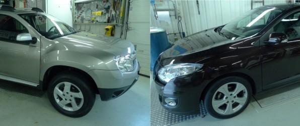 Nieuw binnen: Dacia Duster en Renault Megane