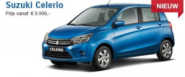 Suzuki Celerio 1.0 comfort 2015 verkocht