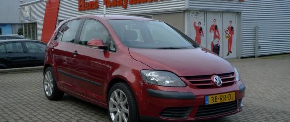 VW Golf Plus verkocht