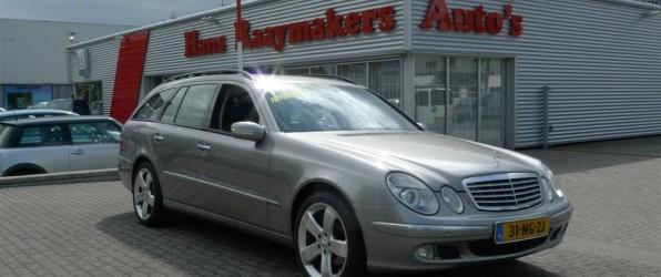 Mercedes E-klasse verkocht