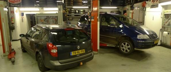 Reparaties vandaag: Renault Laguna en Volkswagen Sharan