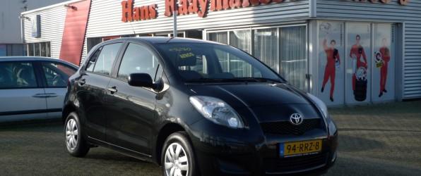 Toyota Yaris verkocht