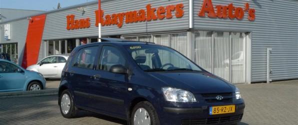 Hyundai Getz verkocht