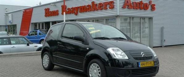 Citroën C2 verkocht
