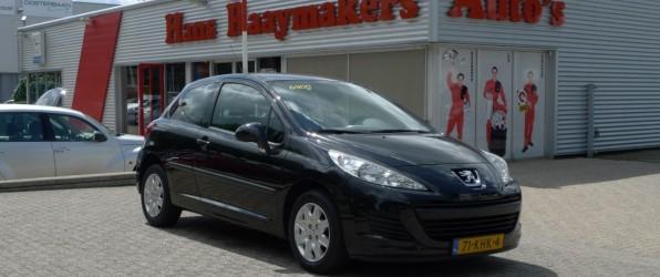 Peugeot 207 verkocht